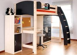 full size bunk bed with desk. Full Size Loft Bunk Bed Beds With Desk Underneath Futon Wooden Floor Ideas
