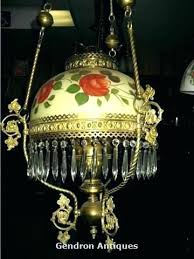 chandeliers antique oil lamp chandelier shade hanging wow a beautiful ornate dutch for