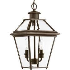 burlington collection 2 light outdoor antique bronze hanging lantern