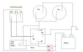vwvortex com radiator fan wiring does this make sense i have 2 slim fans mr gasket 10 8 3a draw each 12v i searched around and made this wiring diagram the information i found