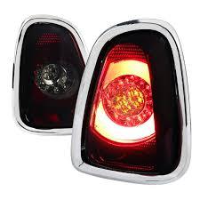 2011 Mini Cooper Brake Light Bulb Spec D Tuning Lt Mini11rgled Tm Mini Cooper Led Tail Lights Red Smoke 2011 2013