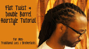 Twist Hairstyles For Boys Tutorial Flat Twist Double Barrel Hairstyle Youtube