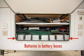 wet cell vs agm batteries rv wiring tips fifth wheel rv battery boxes in basement