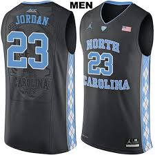 jordan north carolina jersey. jordan no. 23 authentic stitched black mens north carolina tar heels michael college basketball jersey d