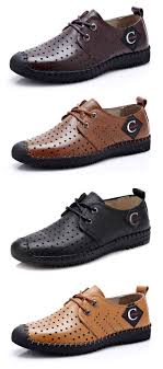 Men Anti Collision Toe Hollow Out Stitcing Breathable Outdoor
