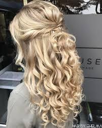 Prom Frisuren Für Blonde Haare účes Svadobné účesy účesy A Miesta