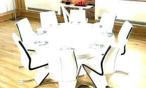 what size round table seats 8 round table seats 8 dining tables seats 8 8 black what size