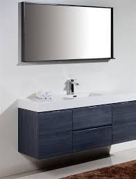 modern single sink bathroom vanities. The Bliss By KubeBath Is One Of Most Elegant Modern Bathroom Vanities Single Sink .