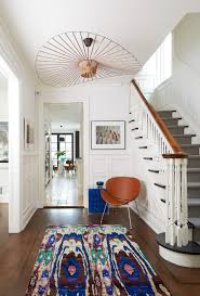 toronto copper light fixtures hall contemporary with eclectic foyer staircase and railing professionals dark wood floors