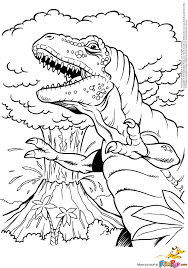 Small Picture Luxury T Rex Coloring Page 74 For Free Coloring Kids with T Rex