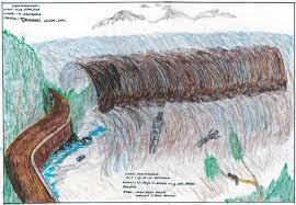 Drawings on lined paper 3d drawings amazing drawings drawing sketches amazing art funny drawings drawing ideas awesome art mignon. Indian Ocean Tsunami Survivors Reunited With Childhood Drawings Global Development The Guardian