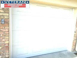 garage door not closing all the way
