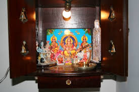 Small Picture Wall mounted Pooja mantap Indusladies
