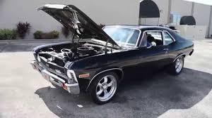 All Chevy black chevy nova : Walk Around & Start 1972 Chevy Nova Black #R151 - YouTube