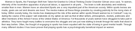 women in sport essay the importance of women and girls in sports sportsbook review