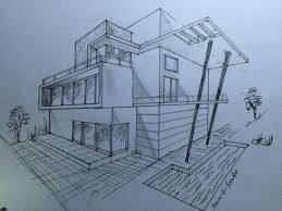 Modern home architecture sketches House Model 3264x2448 Architecture Modern House Design 2 Point Perspective View Getdrawingscom House Architecture Drawing At Getdrawingscom Free For Personal