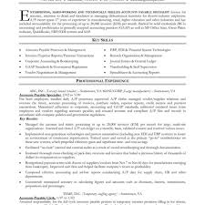 Accounts Payable Resume Examples Examples Of Resumes