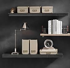 office wall shelves. Reclaimed Wood Wall Shelf | Office \u0026 Storage Restoration Hardware Shelves