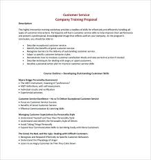Training Proposal Templates Free Sample Example Format Outline ...