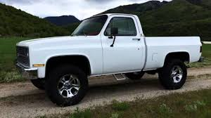 1983 Chevy K10 Shortbed - 350 V8 Crate Motor 4-Speed, Fully ...