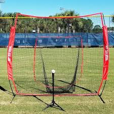 Large Mouth Hitting Net Baseball - Great for practice and warm up Hit Run Steal