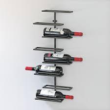 amazoncom  wine enthusiast  bottle urban wall wine rack