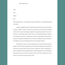 Poem Explication Essay Poetry Explication Essay Not Waving But Drowning Barbie Doll