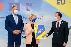 Ursula von der Leyen, in Romania: Comisia Europeana da unda verde...