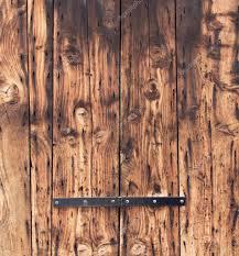 Oude Houten Deur Achtergrond Close Up Natuurlijke Eik Planken