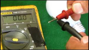 Test Light Bulb With Multimeter Using A Multimeter To Check A Light Bulb