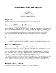Electronics Technician Resume Samples Aviation Electronics Technician Resume Fresh Avionics Resume