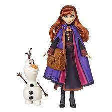 Đồ chơi Hasbro Disney Frozen 2 búp bê công chúa Anna và nhân vật Olaf