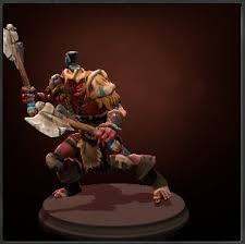 troll warlord screenshot with axes and armour dota2