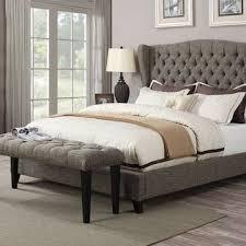 grey tufted bedroom set. bedroom furniture grey leather tufted kingsize bed with large set a
