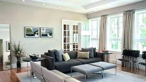 blue grey accent wall living room with gray dark in elegant design