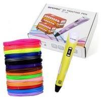 «3D ручка <b>Myriwell</b> RP100B с набором пластика ABS 150 м (15 ...