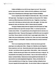 Compare And Contrast Hinduism And Buddhism Chart Compare And Contrast Essay On Buddhism Hinduism Mistyhamel