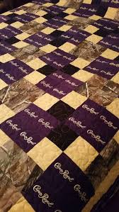 Best 25+ Crown royal bags ideas on Pinterest | Crown royal quilt ... & Crown Royal Quilt Custom Made to Order Crown Royal Quilt, Couch Throw, Man  Cave Blanket (You pick the size and pattern) Adamdwight.com