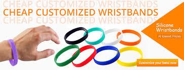 Custom Silicone Wristbands Rubber Bracelets Wristbandbuddy