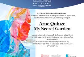 arne quinze my secret garden valencia