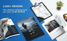 Microsoft Office Tri Fold Brochure Template Ms Office Brochure Template Screenshot 1 For Templates Tri Fold