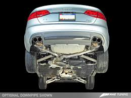 product s awe tuning b8 a4 exhaust