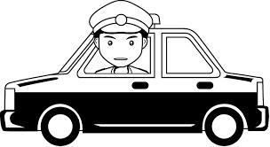 police car clipart black and white. Plain White Jpg Black And White Clip Art Clipartix Graphic Download Police Car  For Car Clipart Black And White F