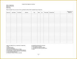 Excel Driver Log Sheet Template Film Log Sheet Template Excel Poporon Co
