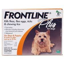 frontline plus ingredients. Frontline Plus Orange Flea \u0026 Tick For Dogs 5-22 Lbs - 6 Pack 0 Ingredients