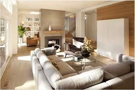Neutral modern living room ...