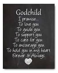 Goddaughter Quotes Beauteous Amazon Godchild Gift Godchild Quote Chalkboard Print Perfect