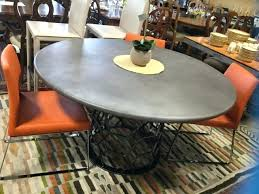 full size of 54 table top wood round pad x concrete metal pedestal dining kitchen pretty