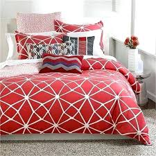 red twin sheets