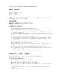 Objective Statement On Resume Customer Service Resume Objective Statement Sample Resume Objective